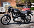 The Triumph Thruxton 900, symbolizes the spirit of the Cafe Racer culture. The 2004 model