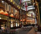 Leadenhall Market, London puzzle