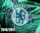 Chelsea FC, champion Premier League 2016-2017, English Football League, its fifth Premier League