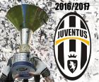 The Juventus is the champion of Serie A 2016-2017, the sixth consecutive scudetto
