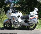 Motorbike police, Romania