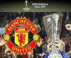 Manchester United champion of the Europe League 2016-2017