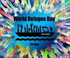 World refugee day, June 20. Violence is forcing thousands of families to abandon their homes to save their lives