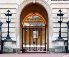 Entrance to Buckingham Palace