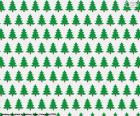 Christmas trees paper