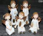 Five Christmas Angels