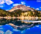 Lake Helen is a glacial lake located in the Lassen Volcanic National Park, California, United States