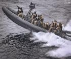 Military inflatable boat