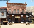 The saloon, typical bar of the American West
