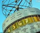 The World Clock is a great clock located at the Alexanderplatz, Berlin, Germany