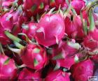 The pitaya or dragon fruit is a fruit from America