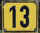 Number thirteen