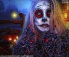 Gothic Halloween mask