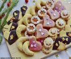 Assortment of Christmas cookies