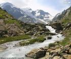 Mountains of Susten, Switzerland