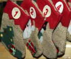 Calendar socks