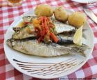 Sardine dish