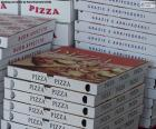 Boxes for pizzas at home
