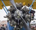 Biplane engine