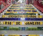 Selarón's Steps, Brazil