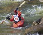 Wildwater canoeing