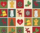 Christmas motif paper