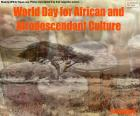 World Day for African and Afrodescendant Culture