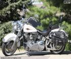 Harley-Davison White