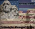 Presidents' Day - Washington's Birthday