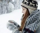 Hot drink for cold