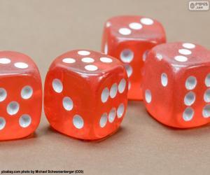 Red dice puzzle