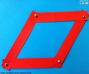 Red Rhombus puzzle