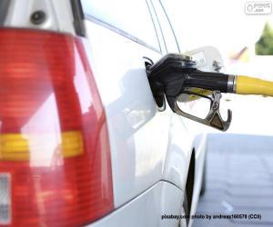 Refueling diesel car puzzle