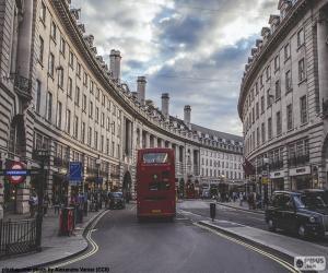 Regent Street, London puzzle
