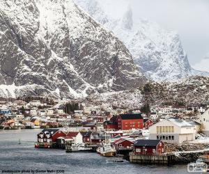 Reine, Norway puzzle