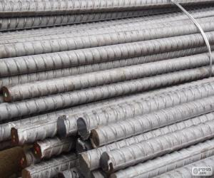 Reinforcing steel bars puzzle