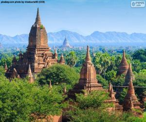 Religious buildings of Bagan, Myanmar puzzle