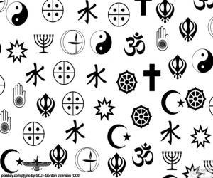 Religious symbols puzzle