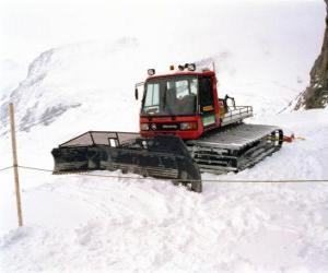 Retract, snowmobiles puzzle