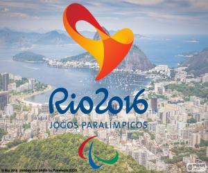 Rio 2016 Paralympic Games logo puzzle
