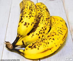 Ripe bananas puzzle