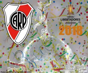 River, champion Libertadores 2018 puzzle