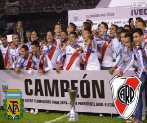 River Plate, champio Torneo Final Argentinan 2014 puzzle