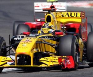 Robert Kubica - Renault F1 - Silverstone 2010 puzzle