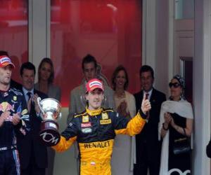 Robert Kubica - Renault - Monte-Carlo 2010 (Ranked 3rd) puzzle