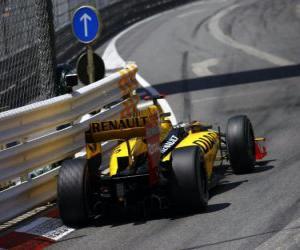 Robert Kubica - Renault - Monte-Carlo 2010 puzzle