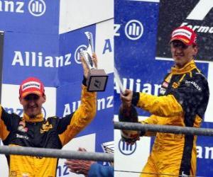 Robert Kubica - Renault - Spa-Francorchamps, Belgium Grand Prix 2010 (Ranked 3rd) puzzle