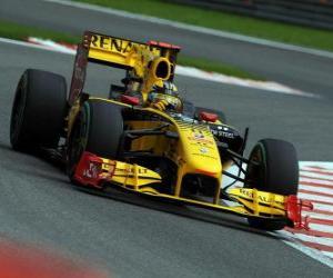 Robert Kubica - Renault - Spa-Francorchamps 2010 puzzle