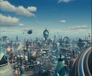 Robot City puzzle