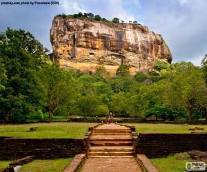 Rock of Sigiriya, Sri Lanka puzzle